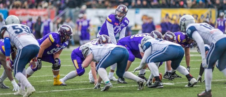 American Football: Dacia Vikings vs. Danube Dragons