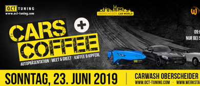 Cars & Coffee Cars & Coffee Meet & Greet mit Top-Boliden