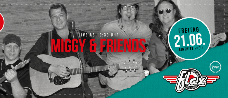 Miggy and friends live - Open Air Am Garnmarkt: POSTPONED