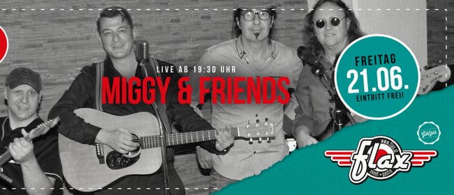 Miggy and friends live - Open Air Am Garnmarkt: VERSCHOBEN