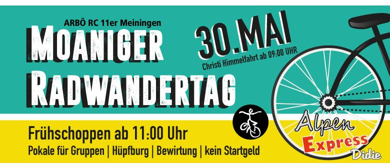 Moaniger Radwandertag 2019
