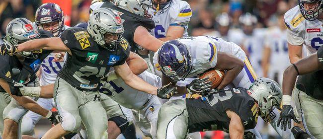 American Football: Dacia Vikings vs. Swarco Raiders