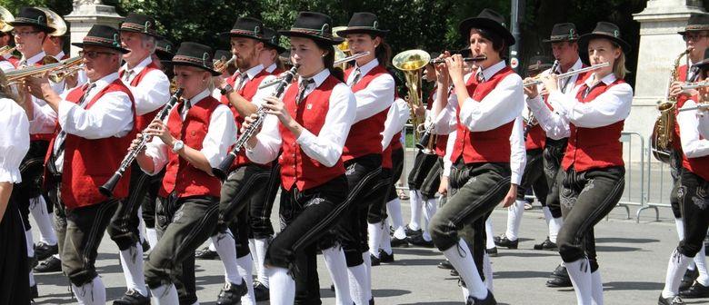 Österreichisches Blasmusikfest feiert 40. Geburtstag