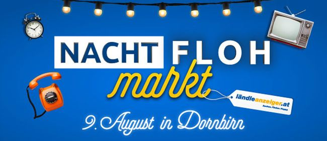 ländleanzeiger.at-Nachtflohmarkt in Dornbirn