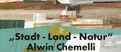 Ausstellung von Alwin Chemelli