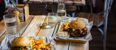 Gratis-Burger Event