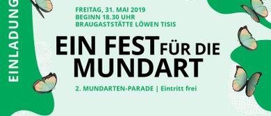 Ein FEST für die MUNDART - 2. Mundartenparade