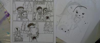 KinderKünstlerKurse: Comic-Workshop