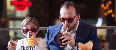 Rockiger Vatertagsbrunch im Hard Rock Cafe