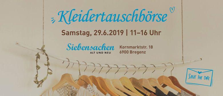Kleidertausch-Party in Bregenz