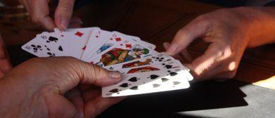 Spielrunde am Montafonertisch