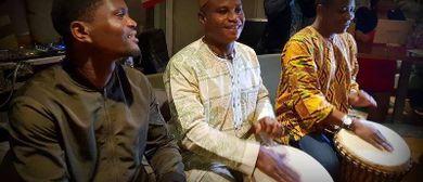 Trommelkonzert für Afrika - Sally & Friends