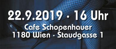 An´em schönen blauen Sonntag im Cafe Schopenhauer