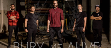 "BURY ME ALIVE Albumrelease-Show ""Unexpected Miseries"""