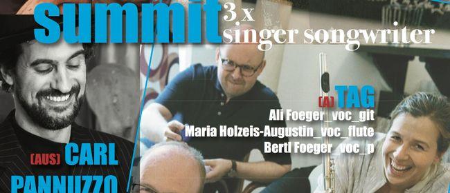 summit – 3x SingerSongwriter: PANNUZZO, CRYSTAL ON MARS, TAG