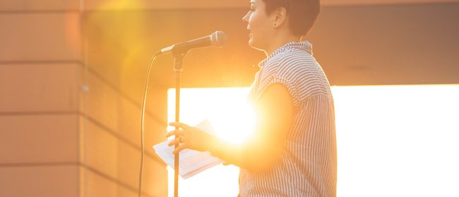 Poetry Slam OBEN am Dach - Summer Opening