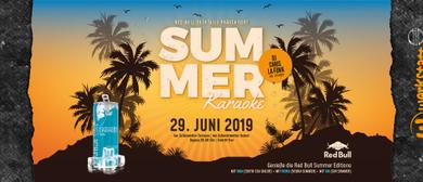 Summer KARAOKENight mit Red-Bull-Cocktails, DJ Chris La Funk