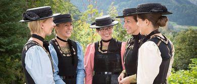 7. Bregenzerwälder Trachtentag - Programm in Schwarzenberg