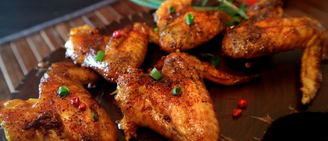 BBQ Wings in der M Lounge