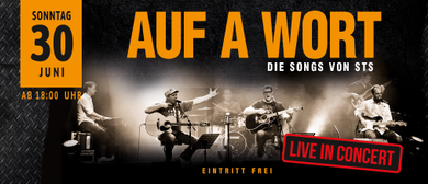 STS-Coverband AUF A WORT Best of Austropop Open Air