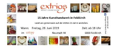 15 Jahre Extrigs Kunsthandwerk
