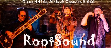 "Olena UUTAi, Alokesh Chandra & ASA  ""RootSound""  in Vienna"