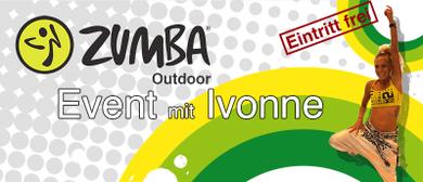Outdoor Zumba mit Ivonne