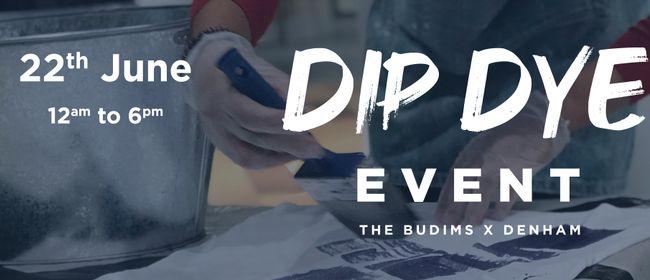 Dip Dye Event by The Budims X Denham