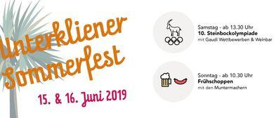Unterkliener Sommerfest