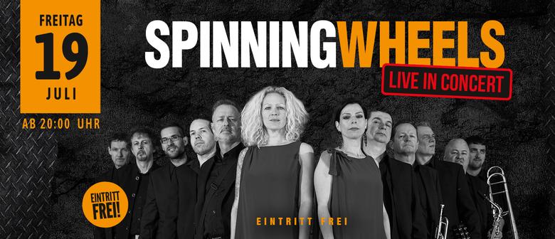 The Spinning Wheels live auf der Werkstatt-Terrasse
