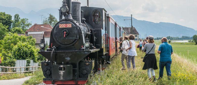 Rheinmündungsfahrt und Exkursion - Dampflok!