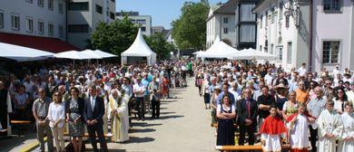 Fronleichnamsfest im Bregenzer Zentrum