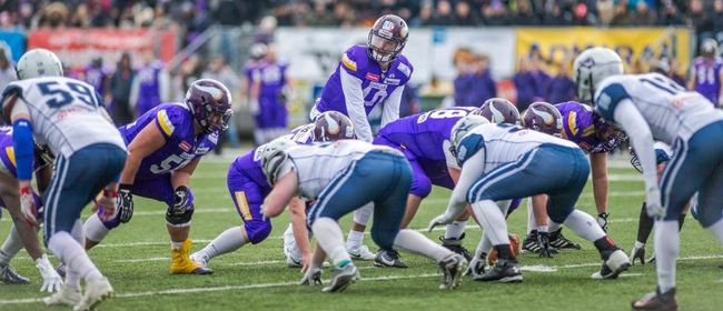 American Football: Dacia Vikings vs. Steelsharks Traun