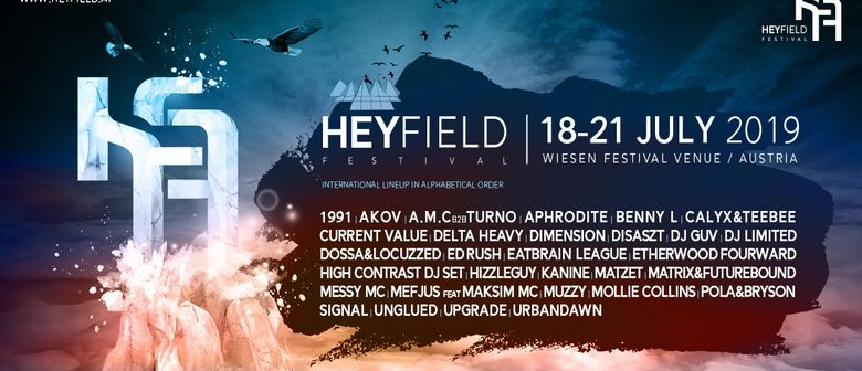 HEYFIELD - DRUM & BASS and BASS MUSIC FESTIVAL