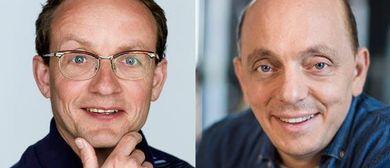 Bernhard Hoëcker und Wigald Boning