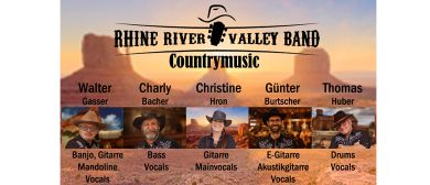 Countrymusic vom Feinsten mit der Rhine River Valley Band
