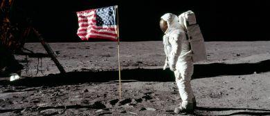 """Vortrag """"Der erste Mensch auf dem Mond"""""""