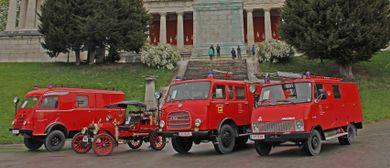 Internat. Feuerwehr-Oldtimer-Treffen in Hard