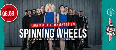 The Spinning Wheels live am Garnmarkt beim FLAX
