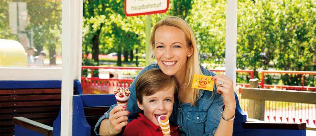 Prater Kids Card Charity mit Eskimo: Spaß haben & Gutes tun