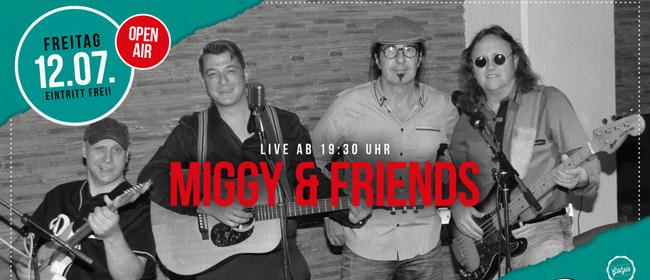 Miggy & friends live beim FLAX Am Garnmarkt - Open Air