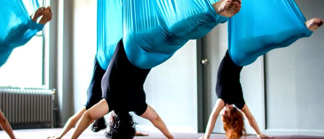 Flying Yoga Sommer