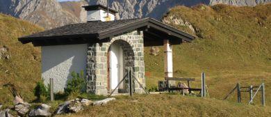 Bergmesse bei der Hubertuskapelle in Fontanella/Zafern