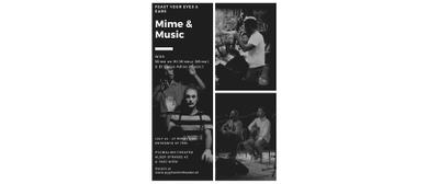 MIME & MUSIC mit Mime en Mi Mineur & El Largo Adiós