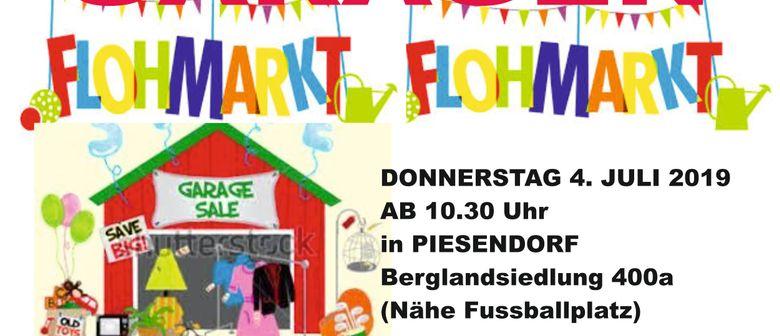 FLOHMARKT - Garagenflohmarkt