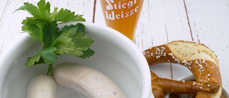 Frühschoppen in der Stiegl-Brauwelt mit den Steirer Buam