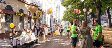 #wohnstrassenleben mit Parcours, Super Seats und Schach