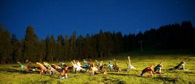 Vollmond-Yoga am Bödele 16.7.