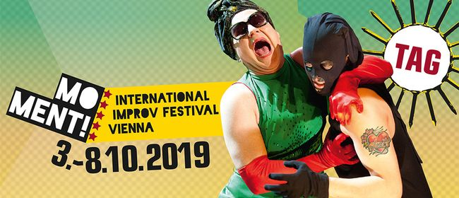MOMENT! 8th INTERNATIONAL IMPROV FESTIVAL VIENNA 2019