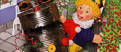 Friedburger Puppenbühne Kasperl und die klappernde Mülltonne